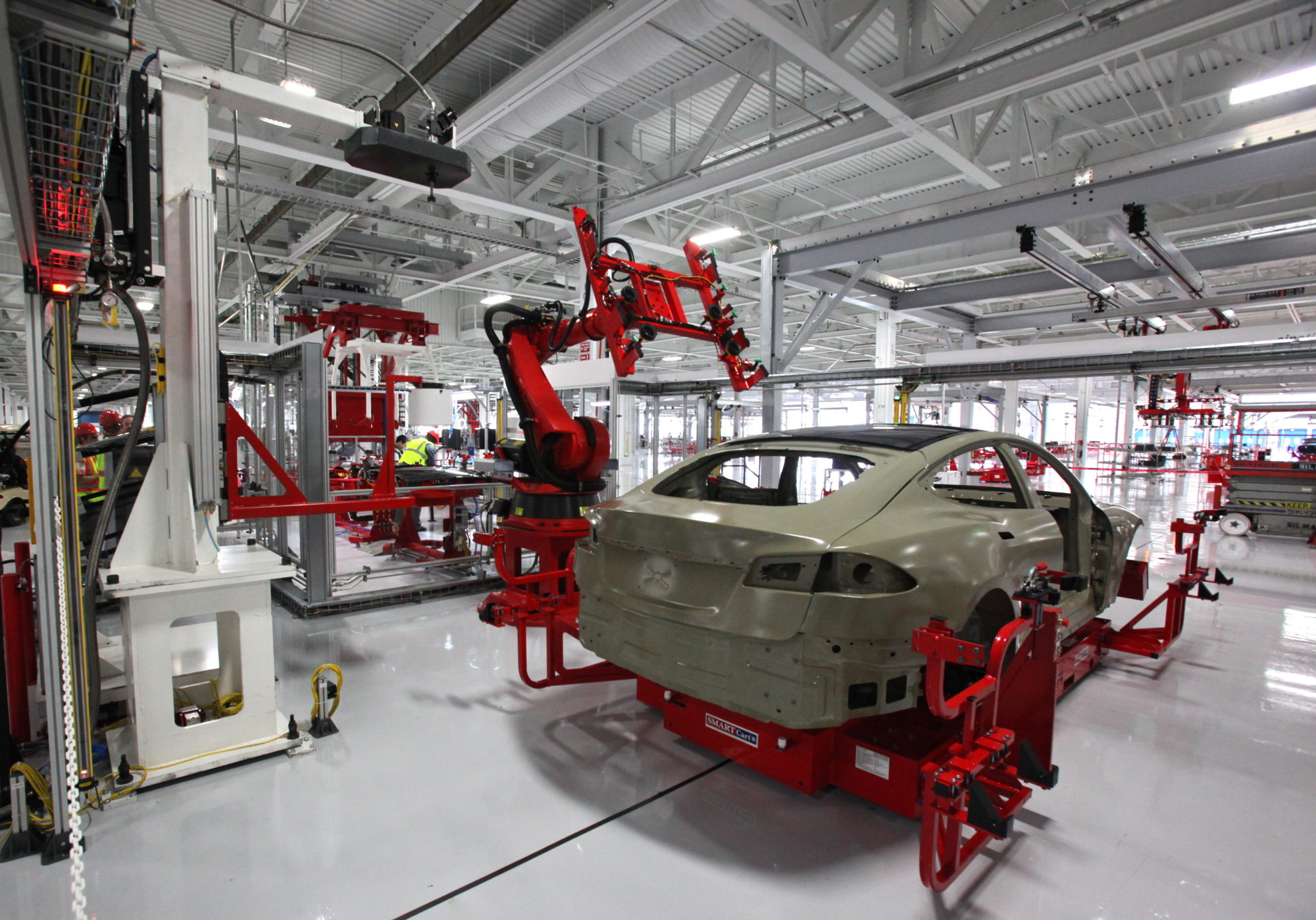 Premier aperçu du Model Y — Tesla
