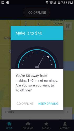 comment uber s 39 appuie sur l 39 tude du comportement pour inciter ses chauffeurs travailler plus. Black Bedroom Furniture Sets. Home Design Ideas