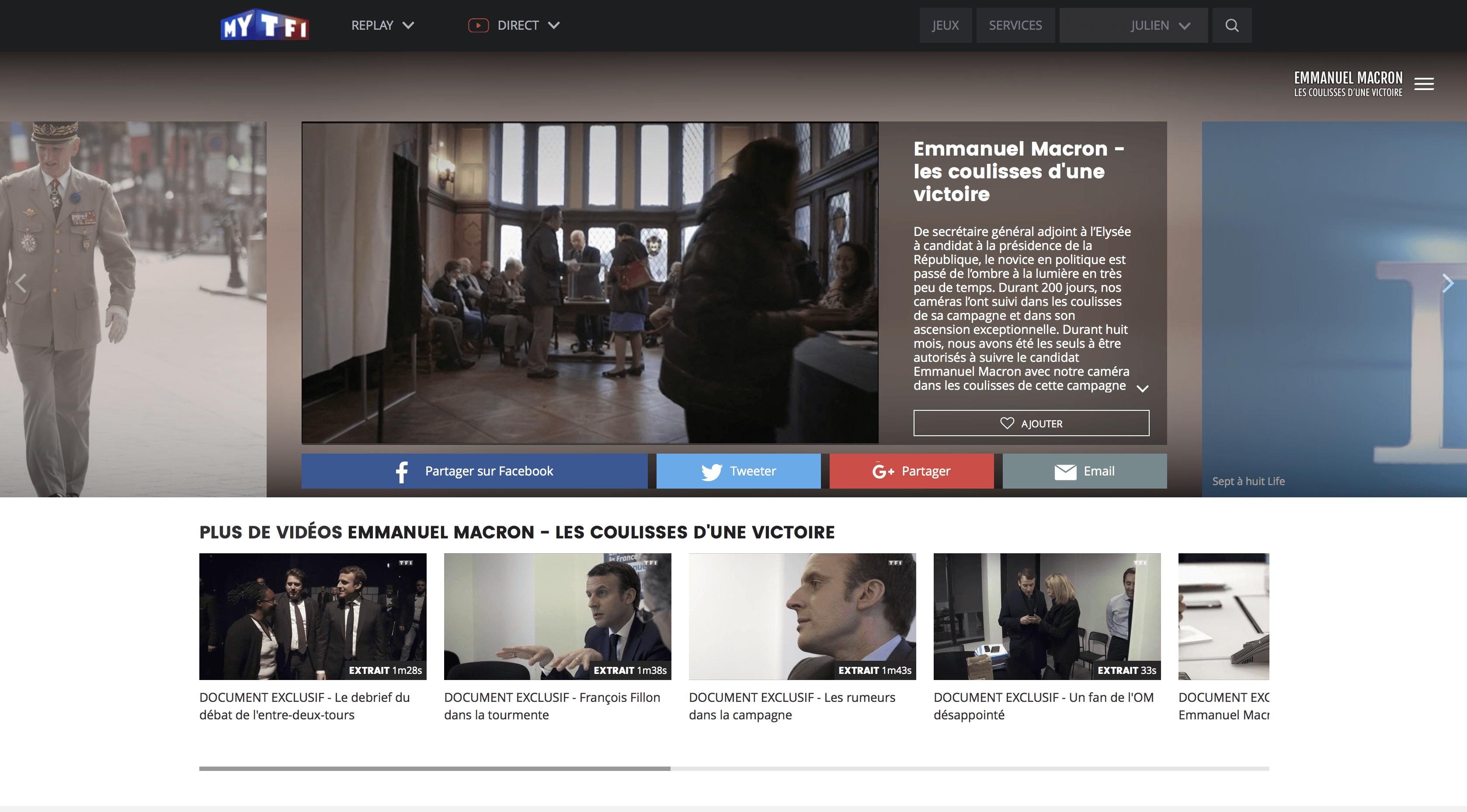 Netflix S Offre La Diffusion Du Documentaire Sur Emmanuel Macron