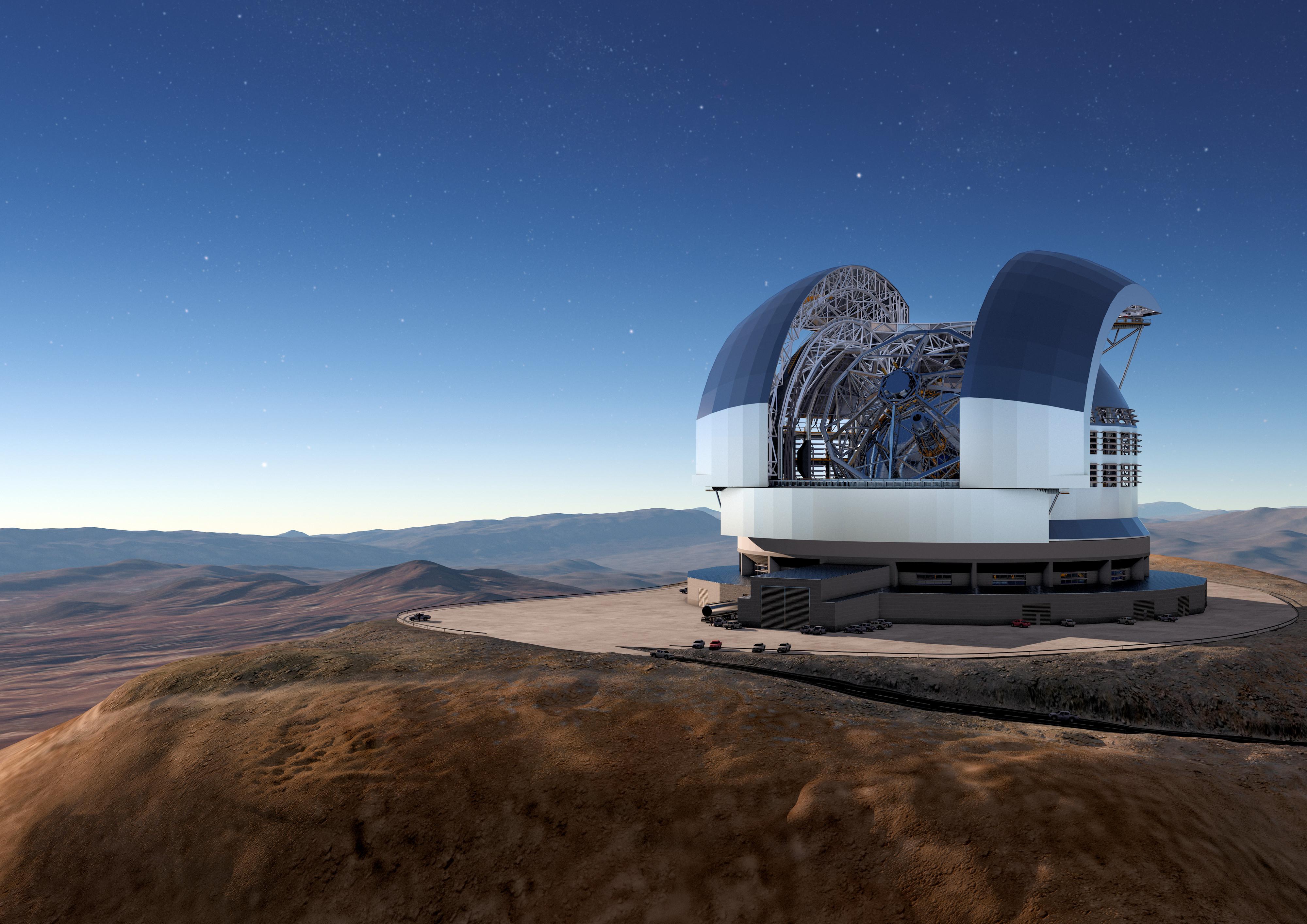 Le Chili lance la construction du plus grand télescope du monde