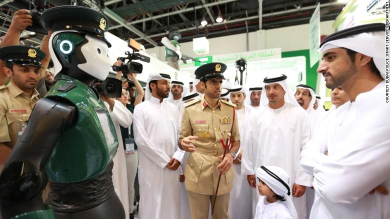 Accueil Buzz Dubaï veut une police composée à 25% de robots d'