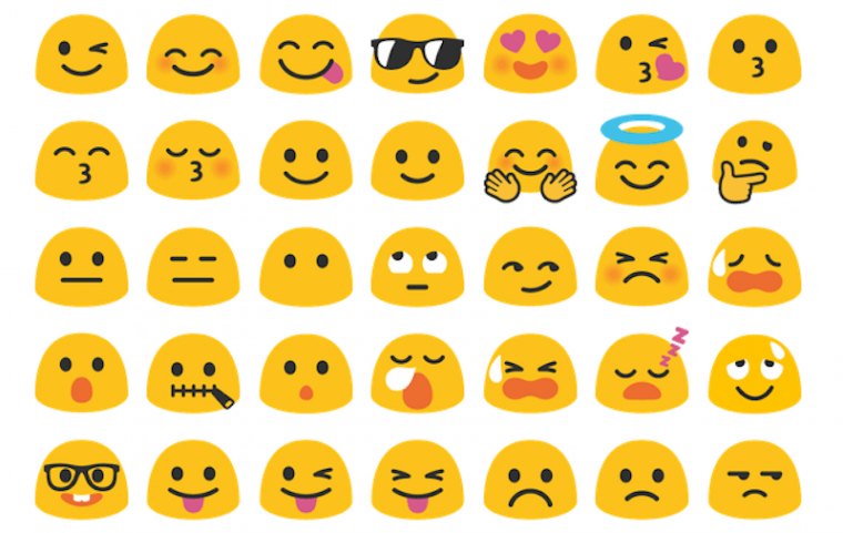 how to see iphone emojis on android au revoir blob petit 233 moji parti trop t 244 t pop 20289