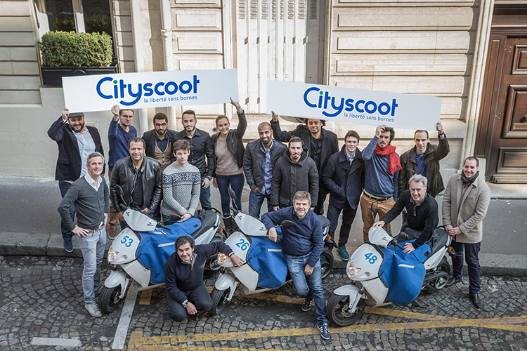 Scooters partagés : Bosch lance Coup pour concurrencer Cityscoot