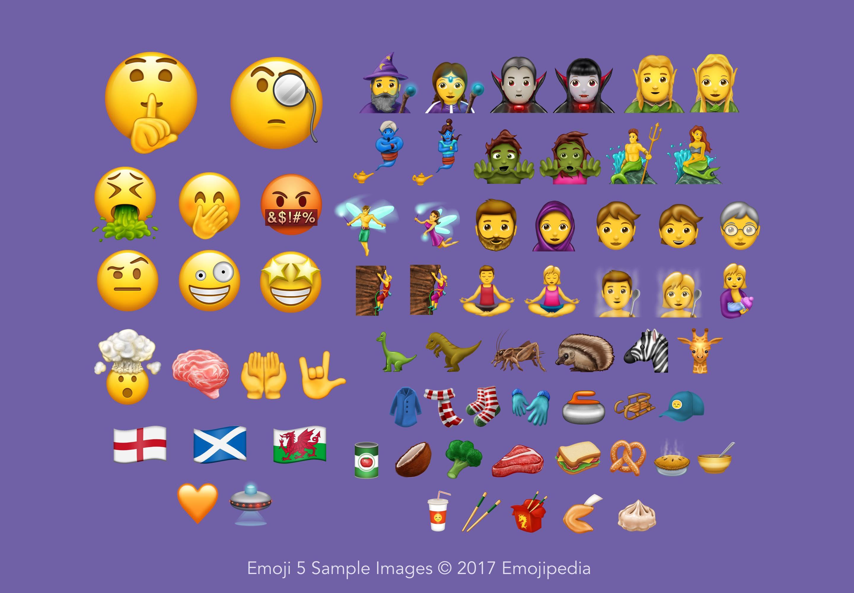 Unicode 10.0: désormais 56 nouveaux émojis sont disponibles