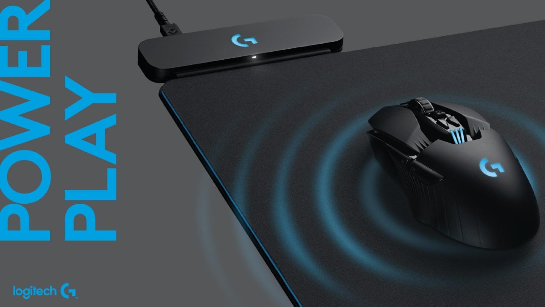 Logitech a dévoilé un tapis de souris rechargeant cette dernière — Powerplay
