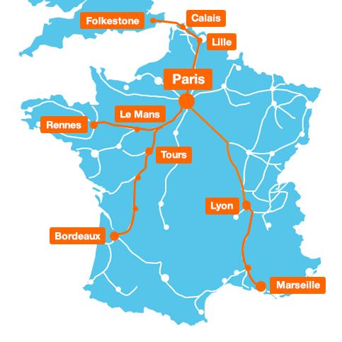 TGV, autoroutes, stations balnéaires,… : Orange détaille sa couverture 3G/4G pour l'été 2017