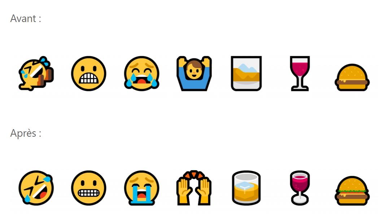 Partage, clavier emojis, Edge, jeux vidéo : Microsoft teste