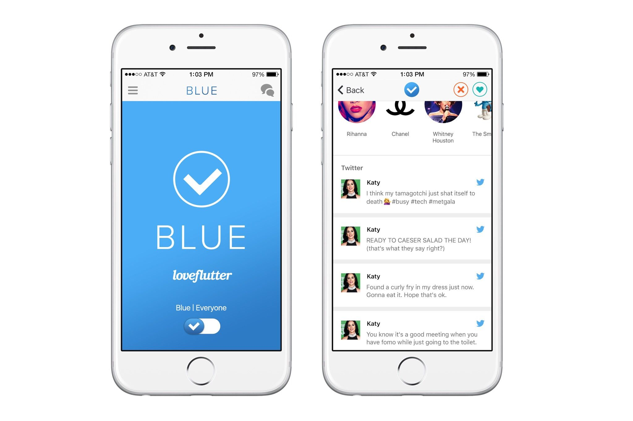 Application de rencontres pour iOS 4