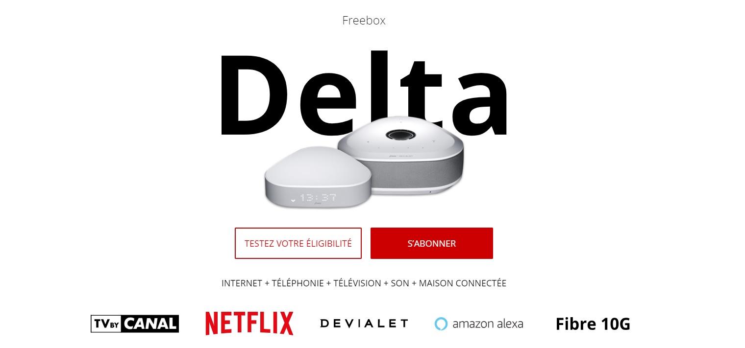 Si vous n êtes pas intéressés par le Player Free – Devialet, il serait plus  judicieux de s orienter vers l offre Freebox Delta S sans engagement à  39,99 ... 7d3a55173553