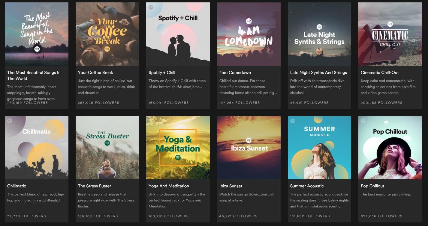 50 faux artistes repérés dans les playlists populaires — Spotify