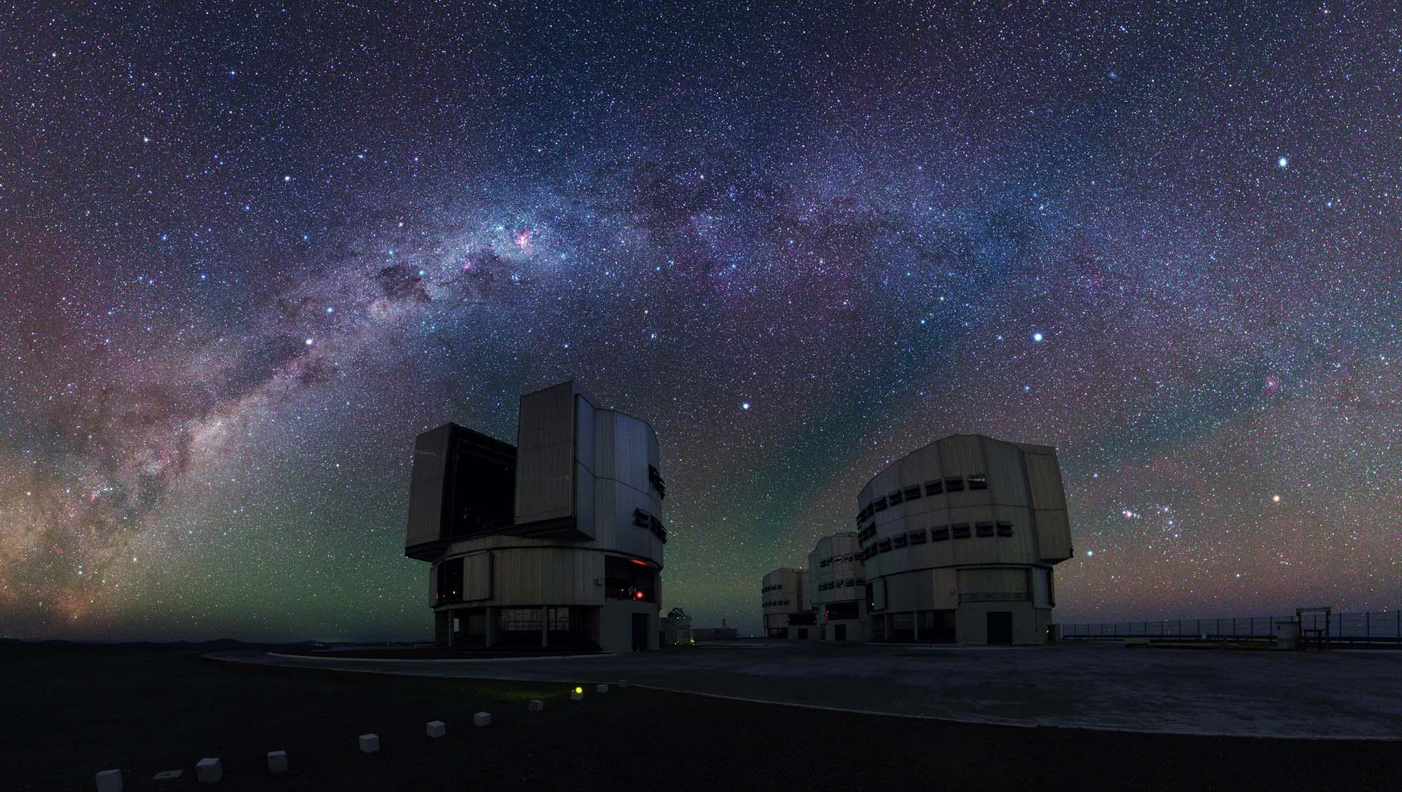VLT télescope espace voie lactée