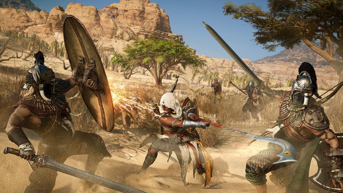 En repoussant Assassin's Creed Origins, Ubisoft a réussi son pari financier