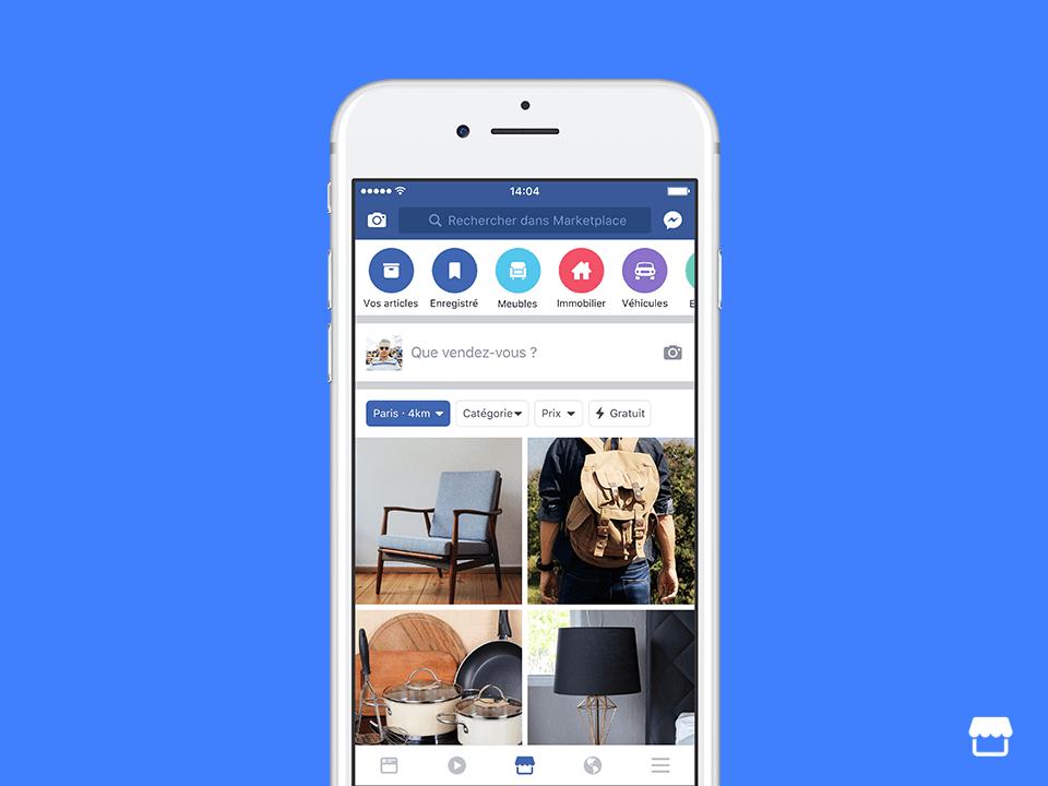 Facebook Marketplace Le Bon Coin Du Réseau Social Débarque