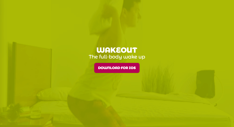 d couvrez wakeout l 39 app qui vous fait faire du sport au r veil tech numerama. Black Bedroom Furniture Sets. Home Design Ideas
