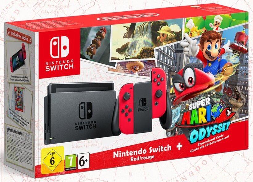 Pack Switch + Mario, Skyrim, New 2DS XL Pokémon    : les grosses