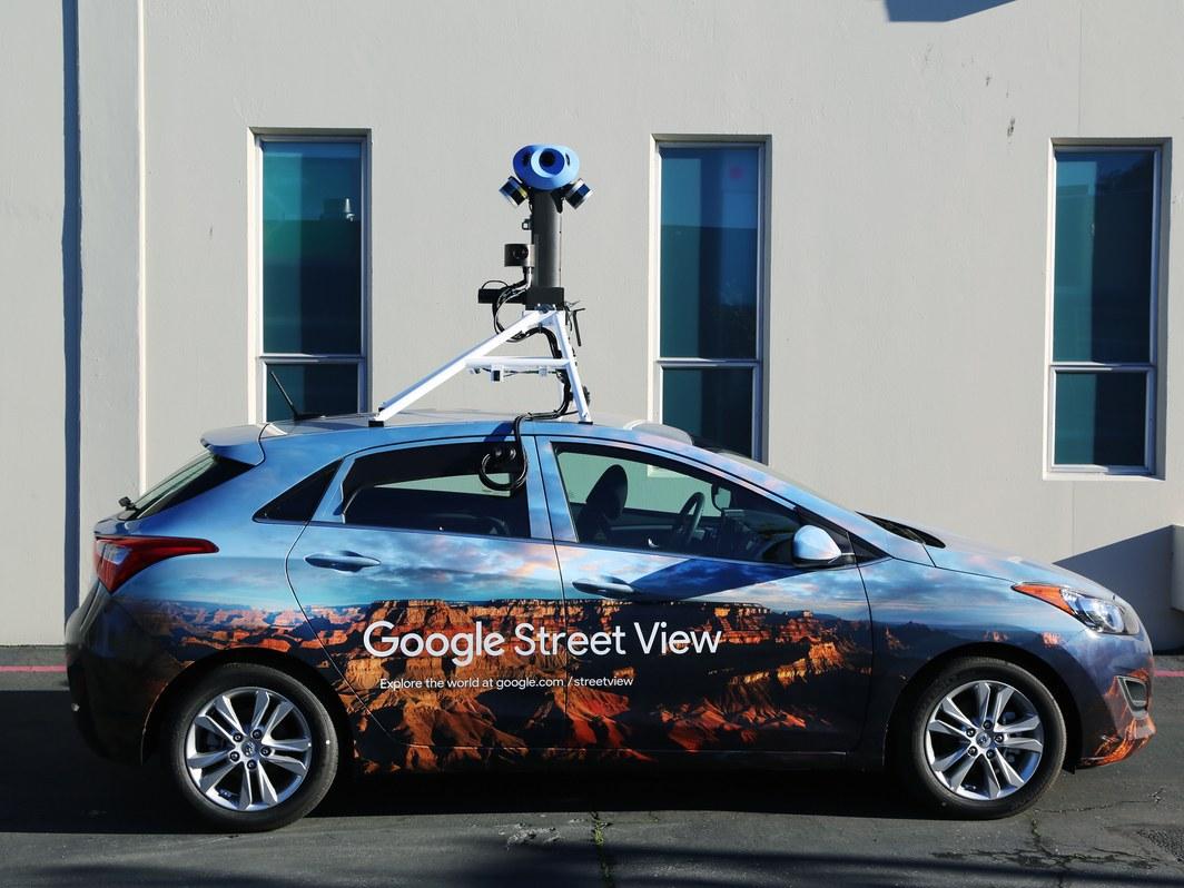 Google Street View Modernise Ses Vehicules Pour Collecter Encore