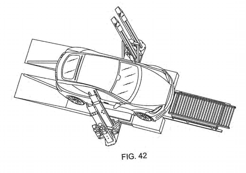 Nouveau brevet pour un système d'échange de batterie — Tesla
