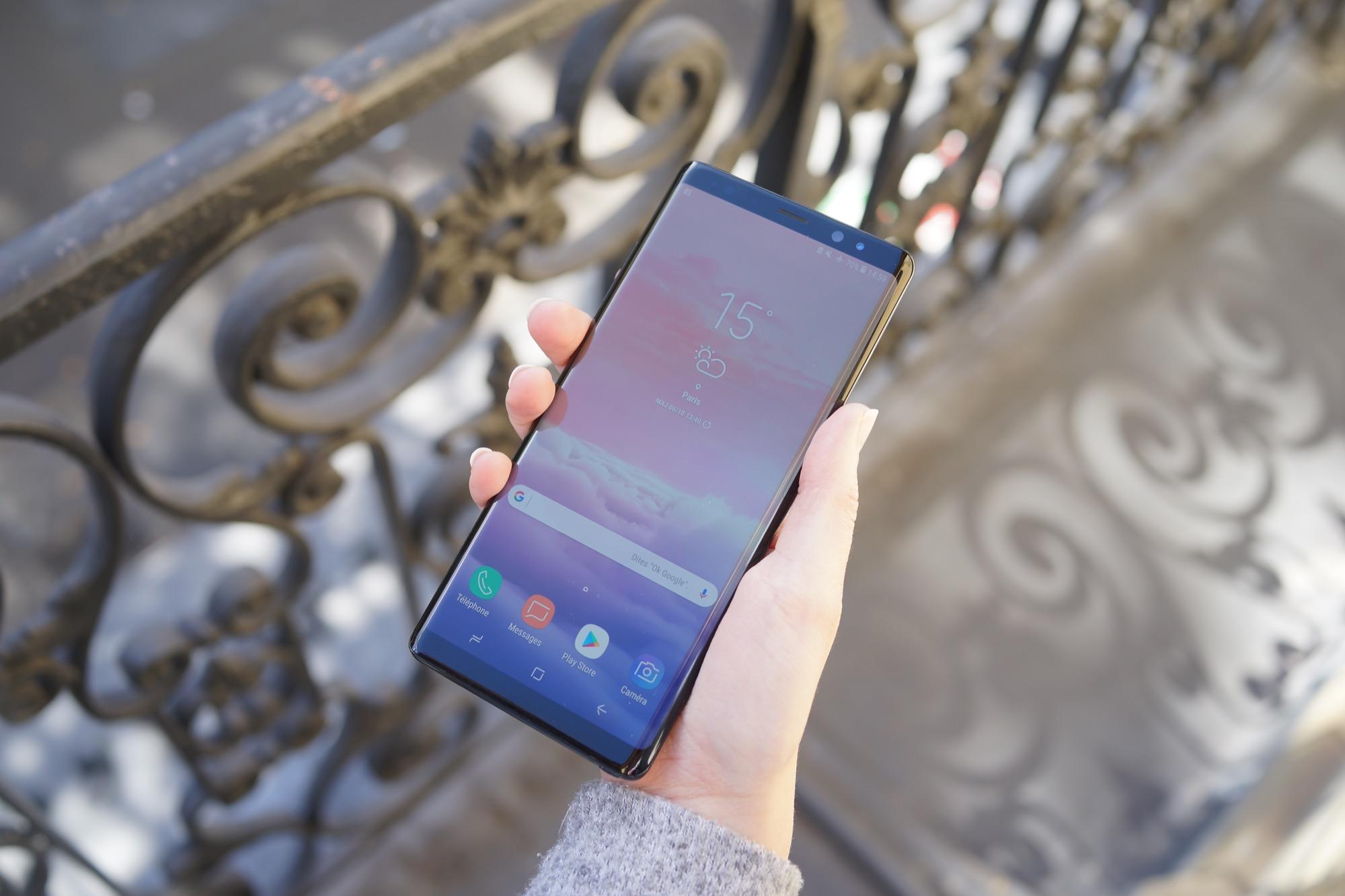 Test Du Samsung Galaxy Note 8 Un Colosse Aux Pieds Dargile