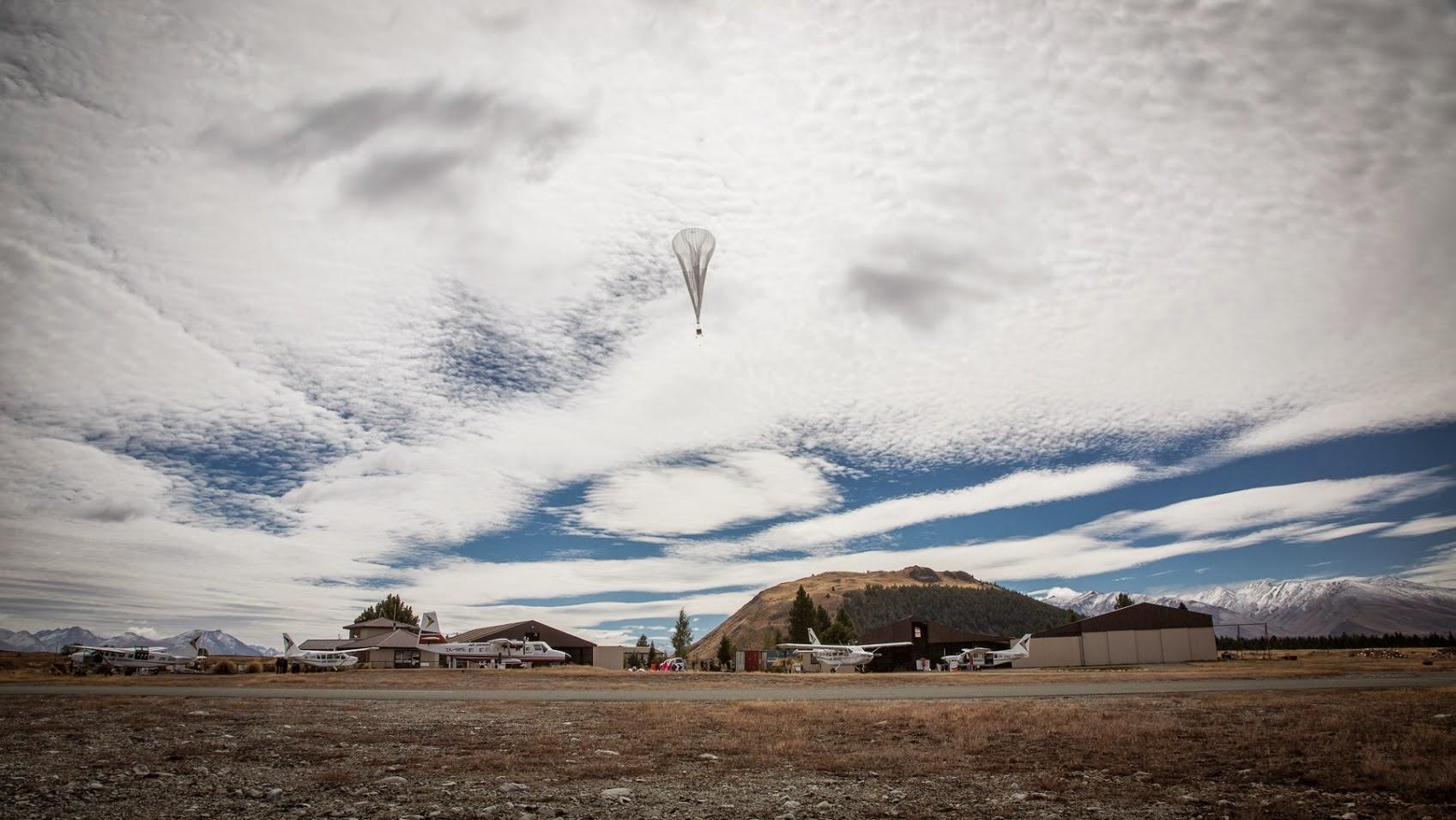 Google autorisé à déployer ses ballons Loon au-dessus de Porto Rico