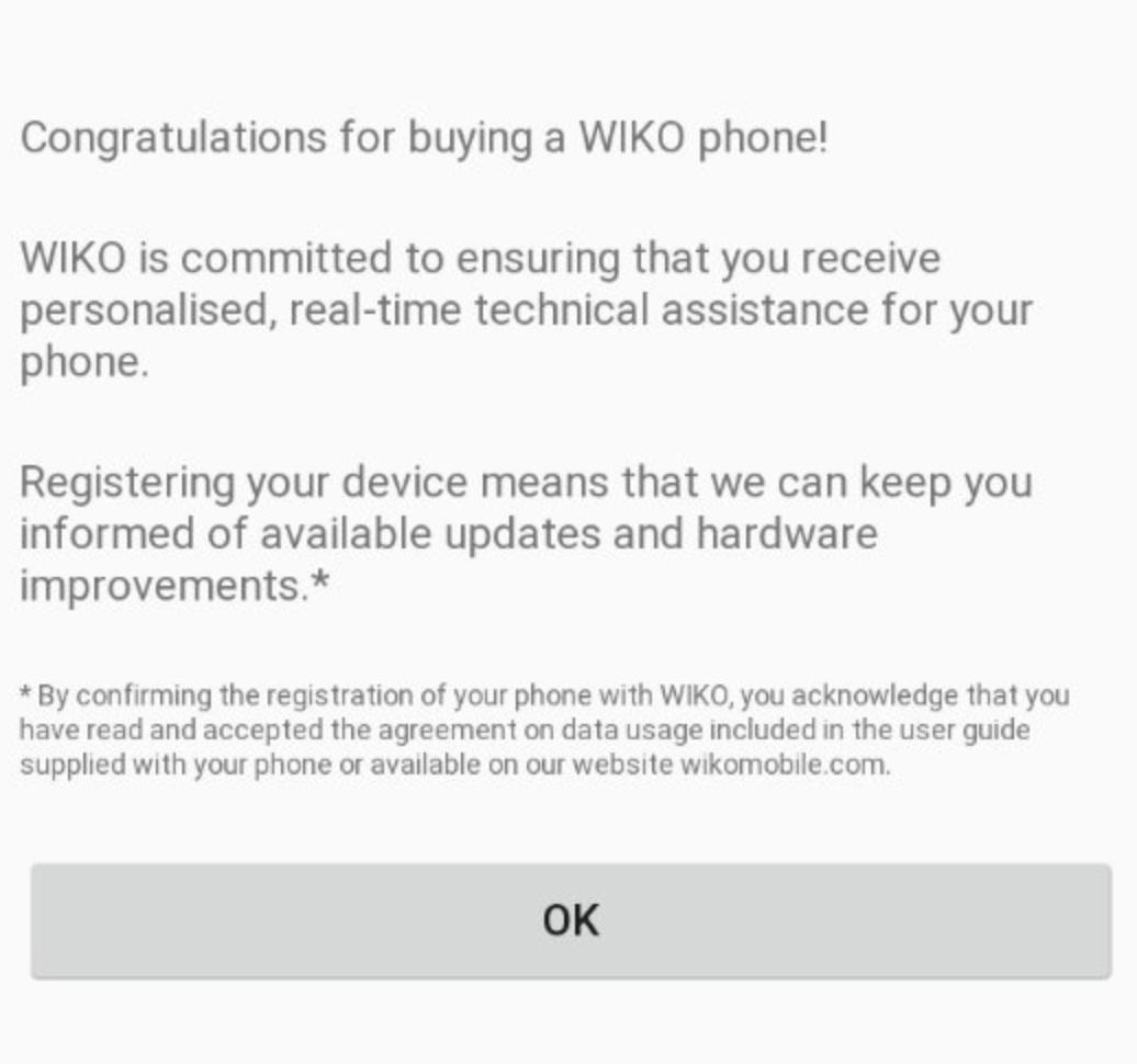 Les données des utilisateurs transférées vers la Chine — Wiko