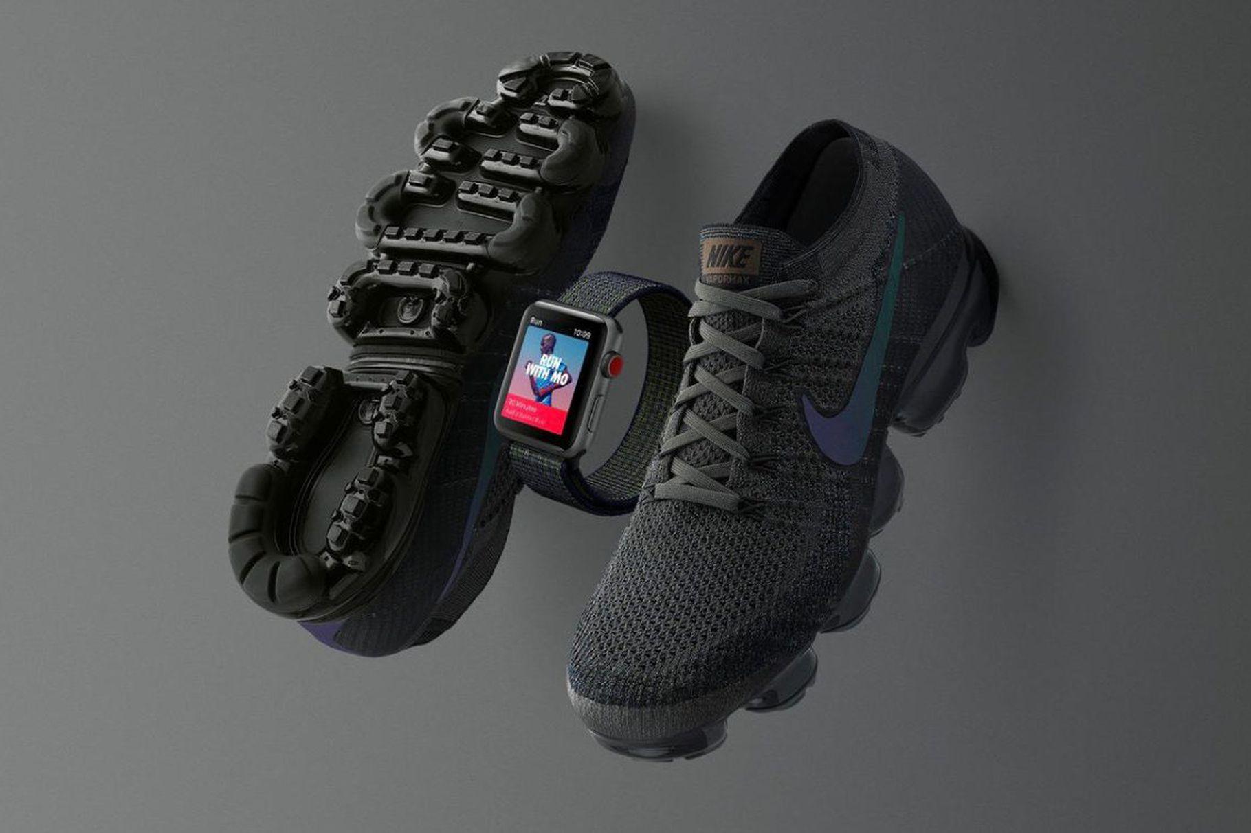 picked up attractive price coupon codes Nike et Apple lancent un ensemble avec des baskets et une ...