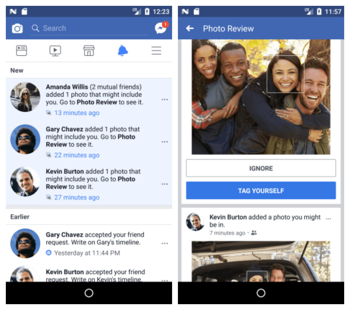 La reconnaissance faciale pour éviter les usurpations de compte — Facebook