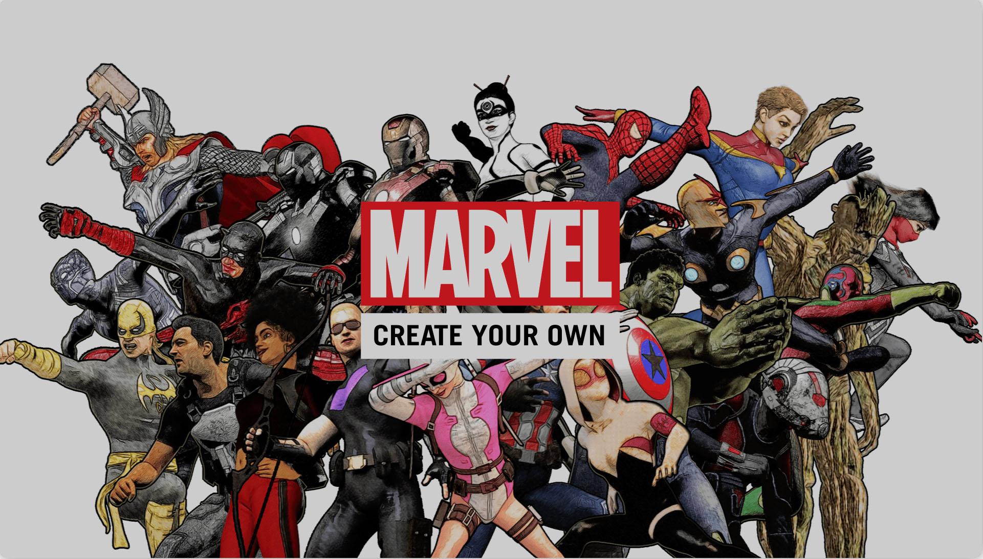 Marvel invite ses lecteurs cr er leurs propres comics for Create your own building