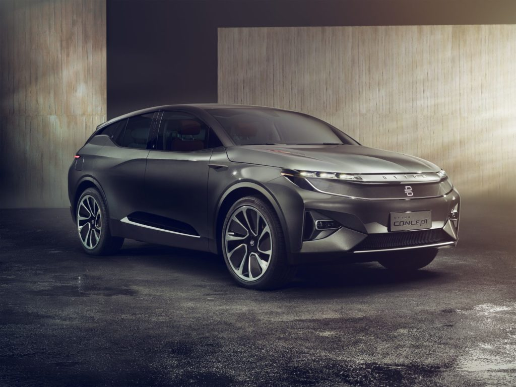 Start-up chinoise, Byton dévoile un SUV 100 % électrique équipé d'Alexa ! Par Maxime Claudel 1-byton-concept-exterior-1024x768