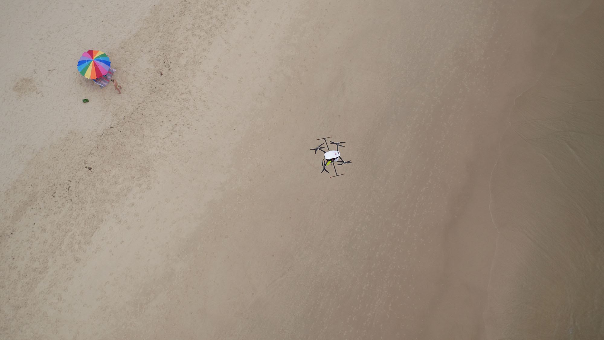 drone plage
