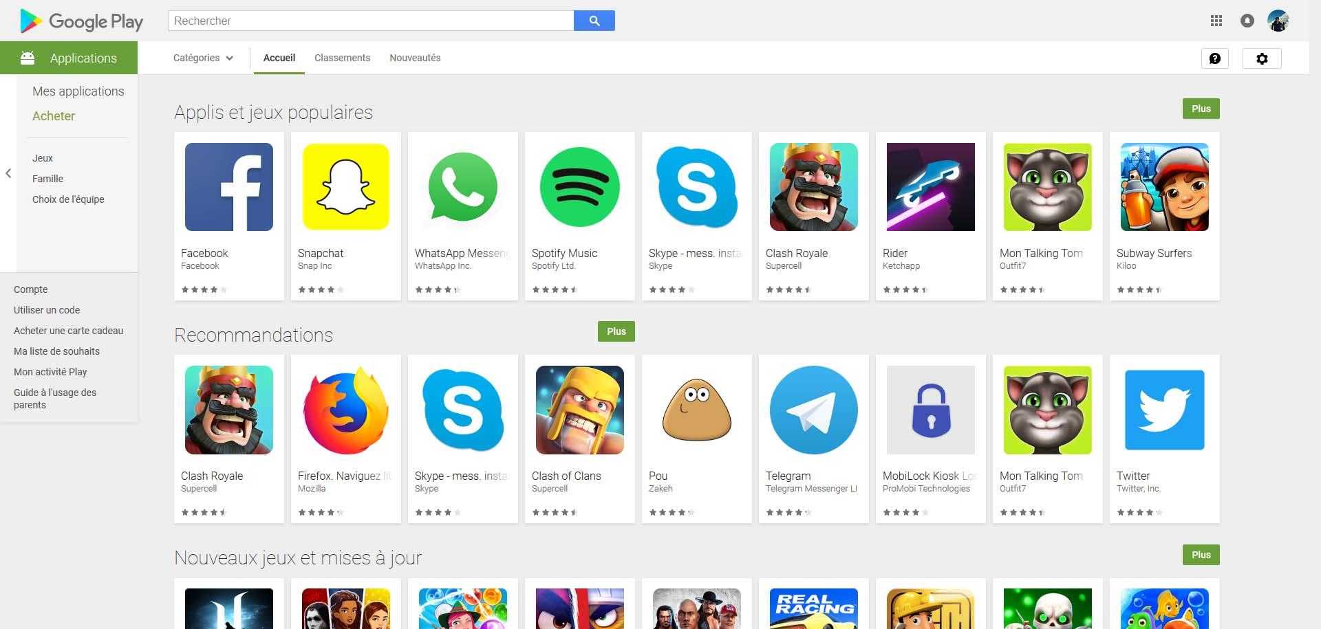 Il Y A Tant De Malwares Sur Le Play Store Que Google A