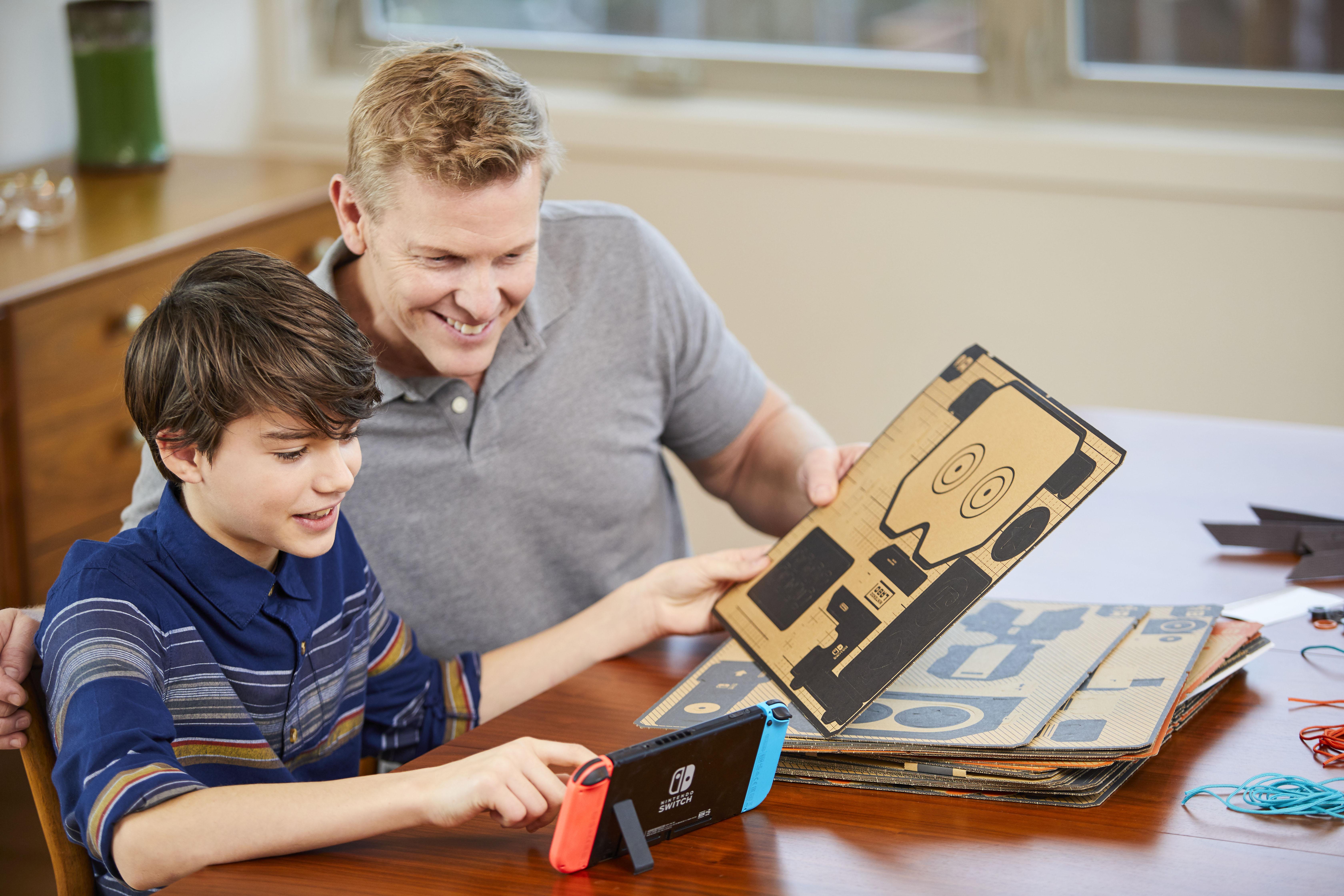 Les nouveaux accessoires en kit vont faire un carton — Nintendo Toy-Cons