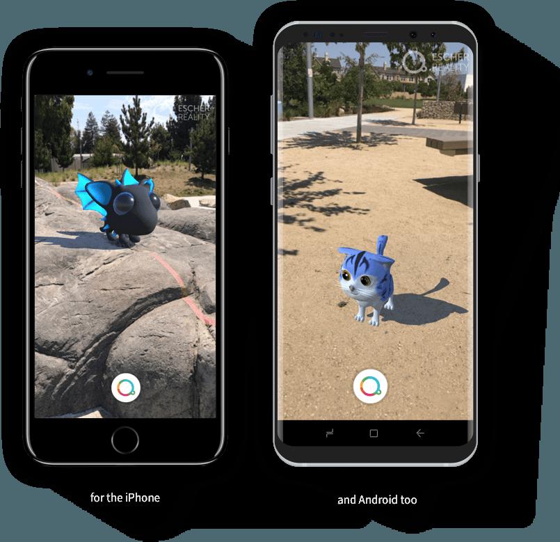 Pokemon Go rachète la société Escher Reality