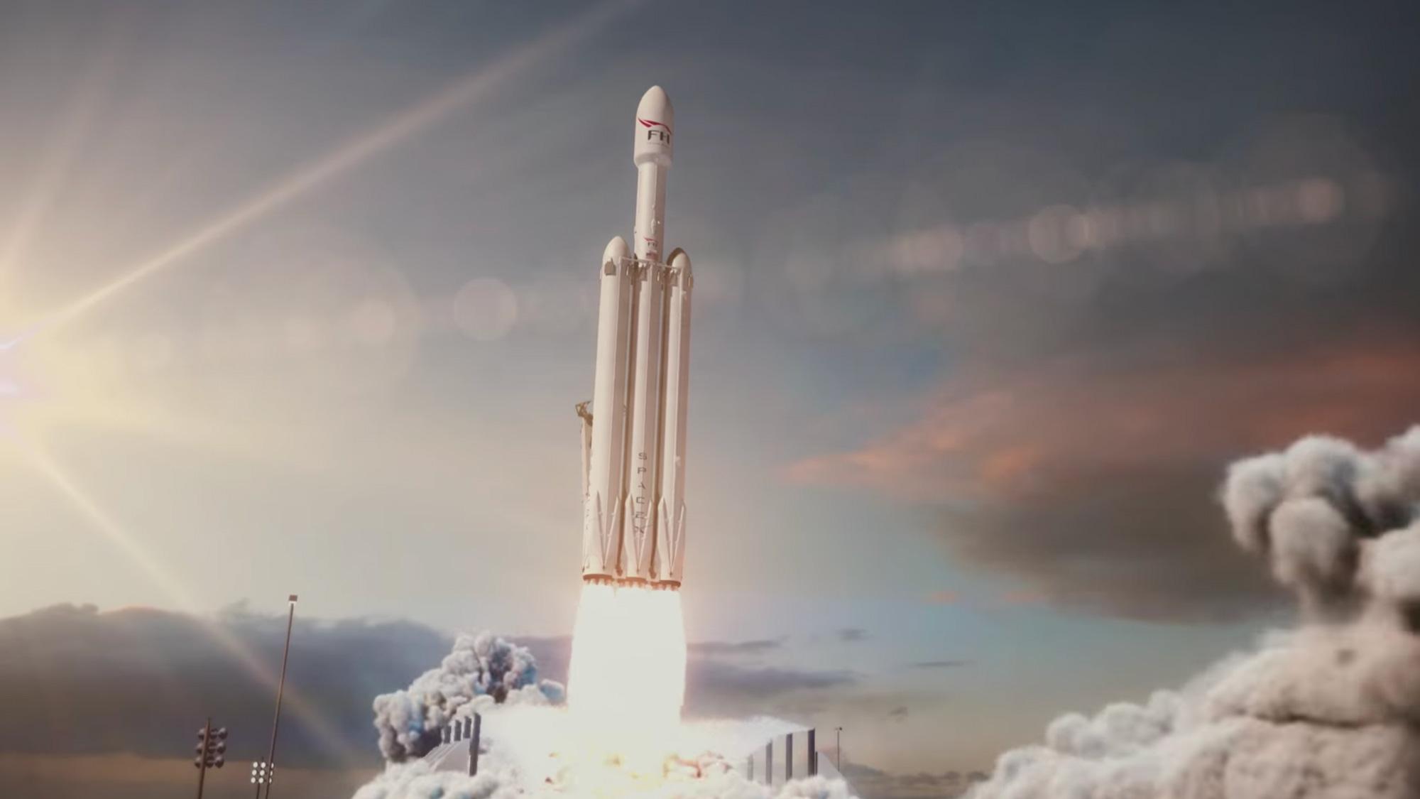 apr s le lancement du falcon heavy quelles sont les prochaines tapes pour spacex sciences. Black Bedroom Furniture Sets. Home Design Ideas