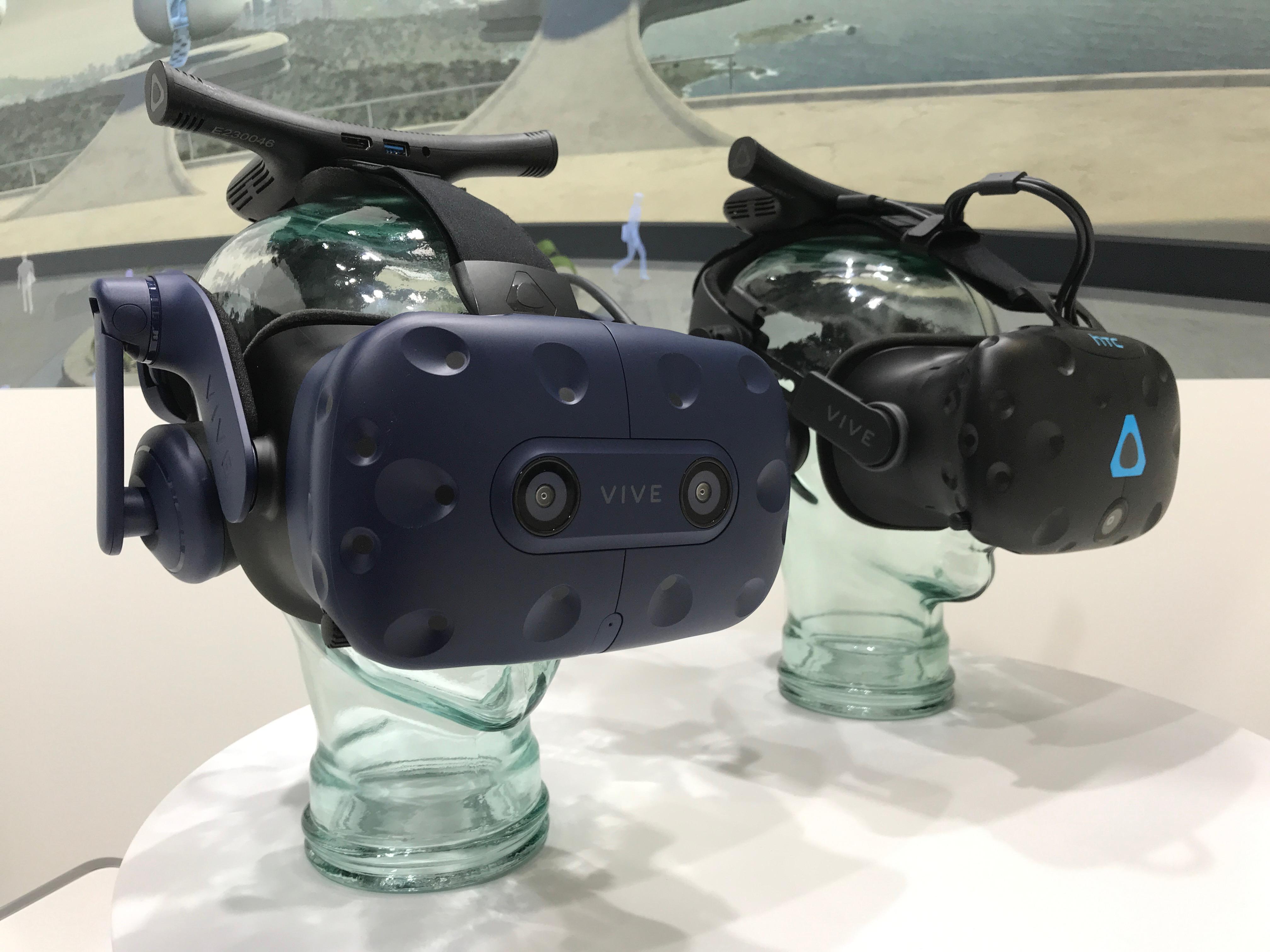 HTC Vive Pro, multijoueurs, éducation : où en est la réalité virtuelle au MWC ? - Numerama