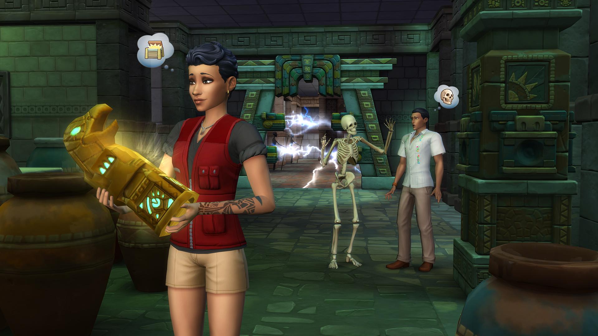 Est-il un service de rencontres dans les Sims 3
