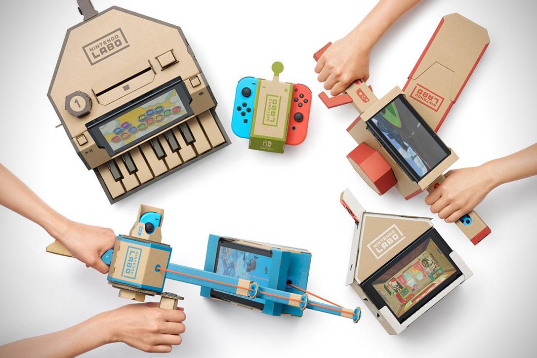 Le Nintendo Labo changera-t-il la pratique du jeu vidéo ? - Pop culture - Numerama