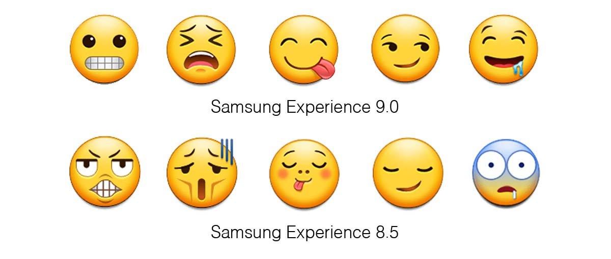 Samsung avait les pires emojis : avec Android Oreo sur