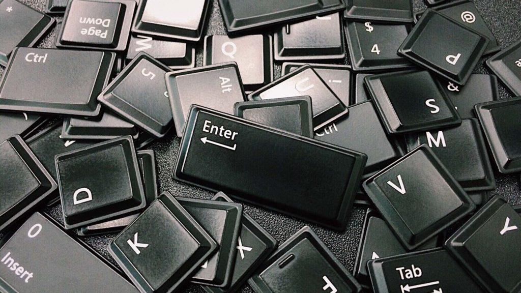 clavier touche