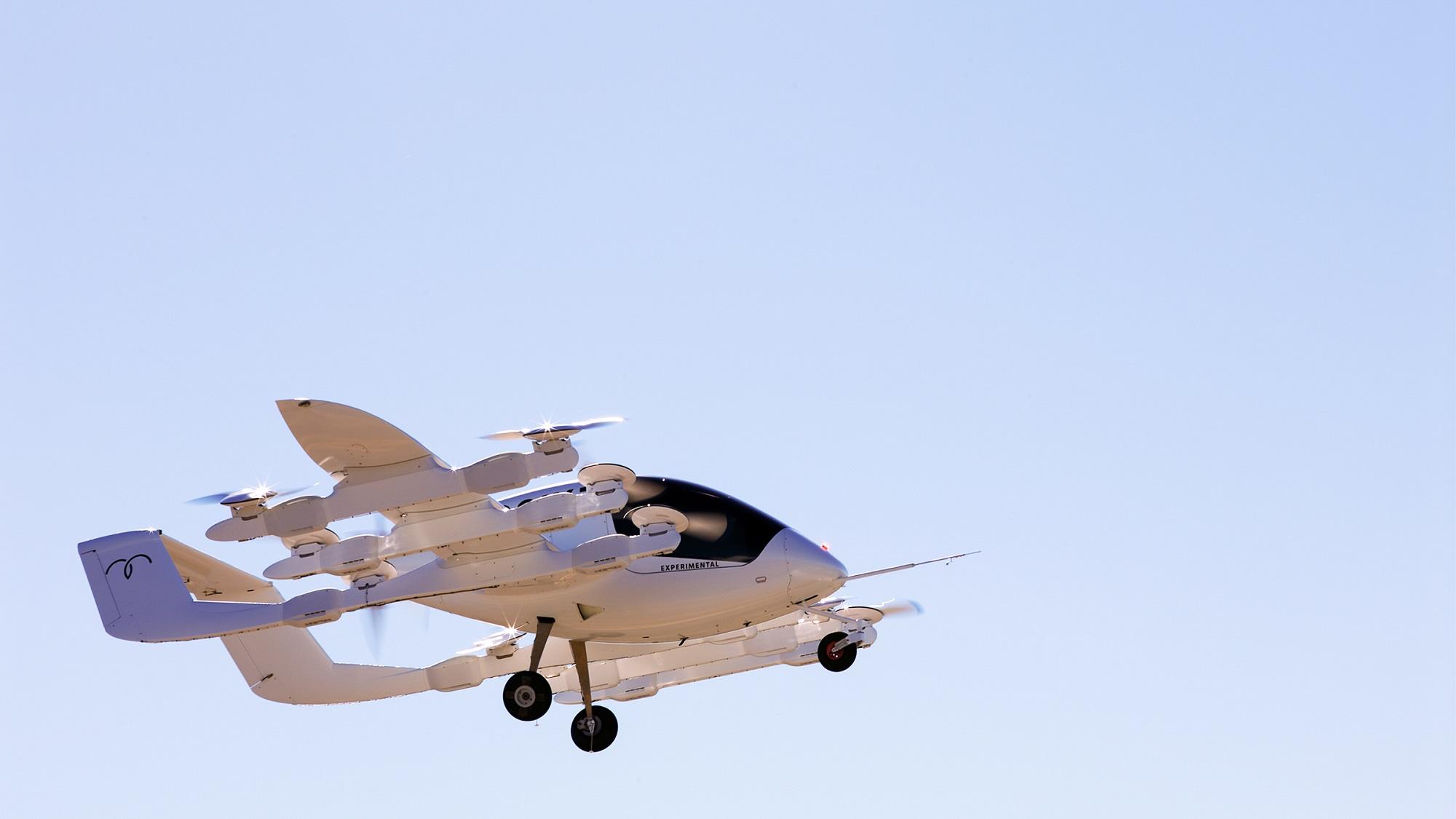 Cora, l'étonnant avion-taxi autonome du cofondateur de Google