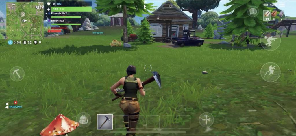 7328a930faedff Au premier lancement, le jeu est effectivement le même que la machine à  cash d Epic. On se retrouve sur le mode Battle Royale et un système de  matchmaking ...