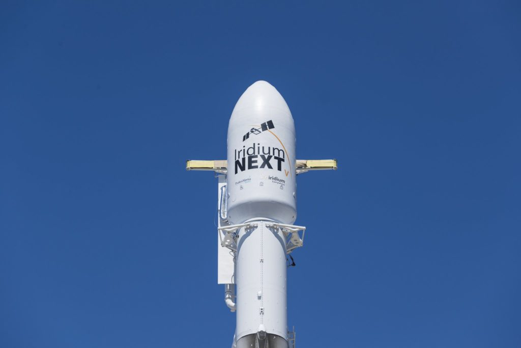 Iridium Next SpaceX