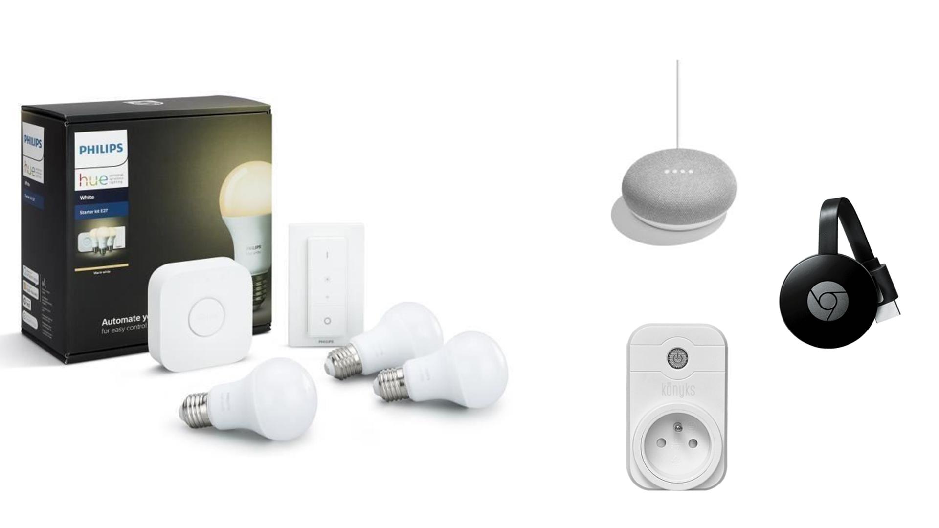 Le Bon Plan du Jour : pack Philips Hue + Google Home Mini +