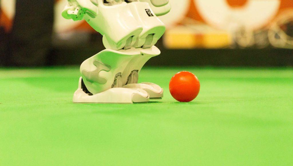 robot RoboCup balle