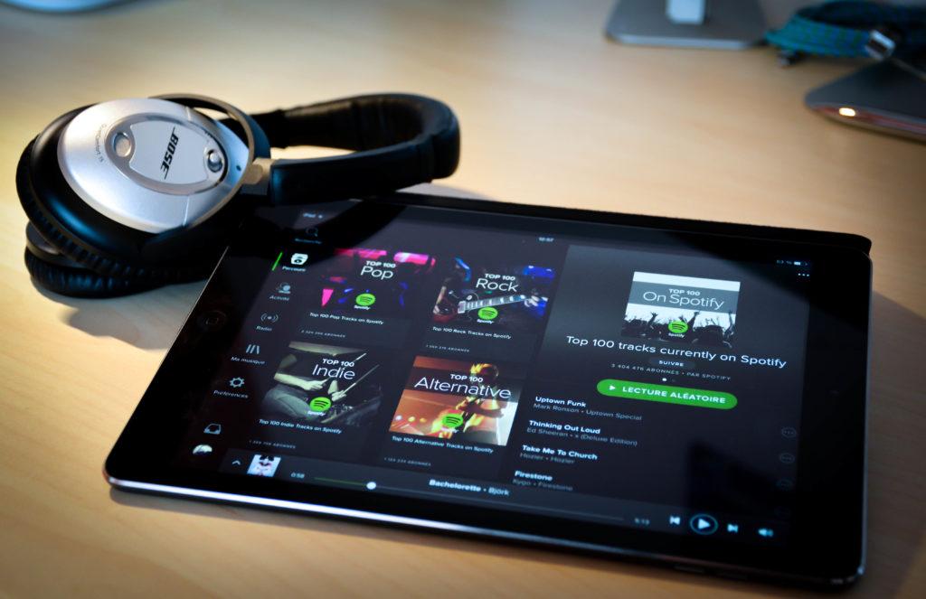 Votre compte Spotify pourra être fermé si vous utilisez un bloqueur de publicité audio
