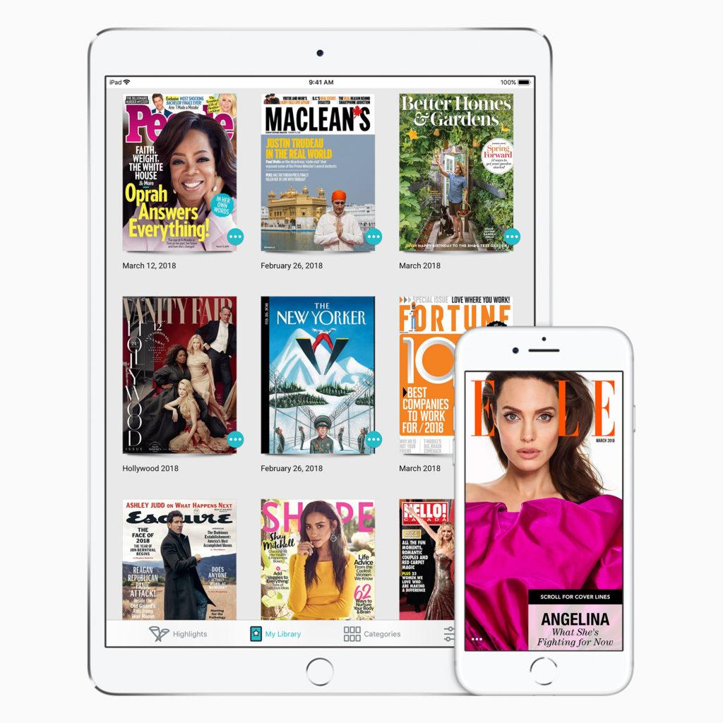 Apple compterait proposer un abonnement presse dès 2019