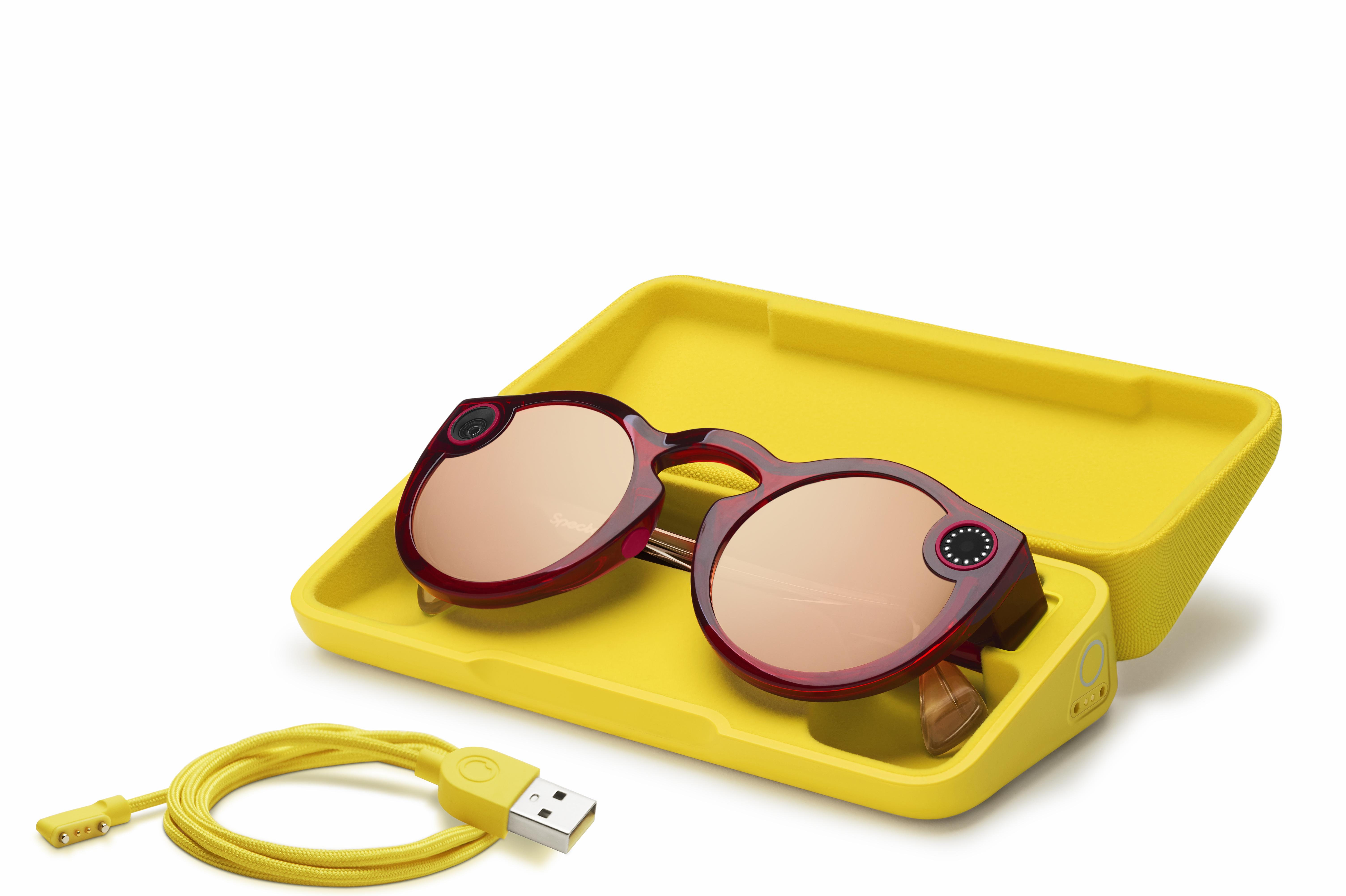 469b7cffec1ae Snapchat dévoile la nouvelle version de ses lunettes Spectacles ...