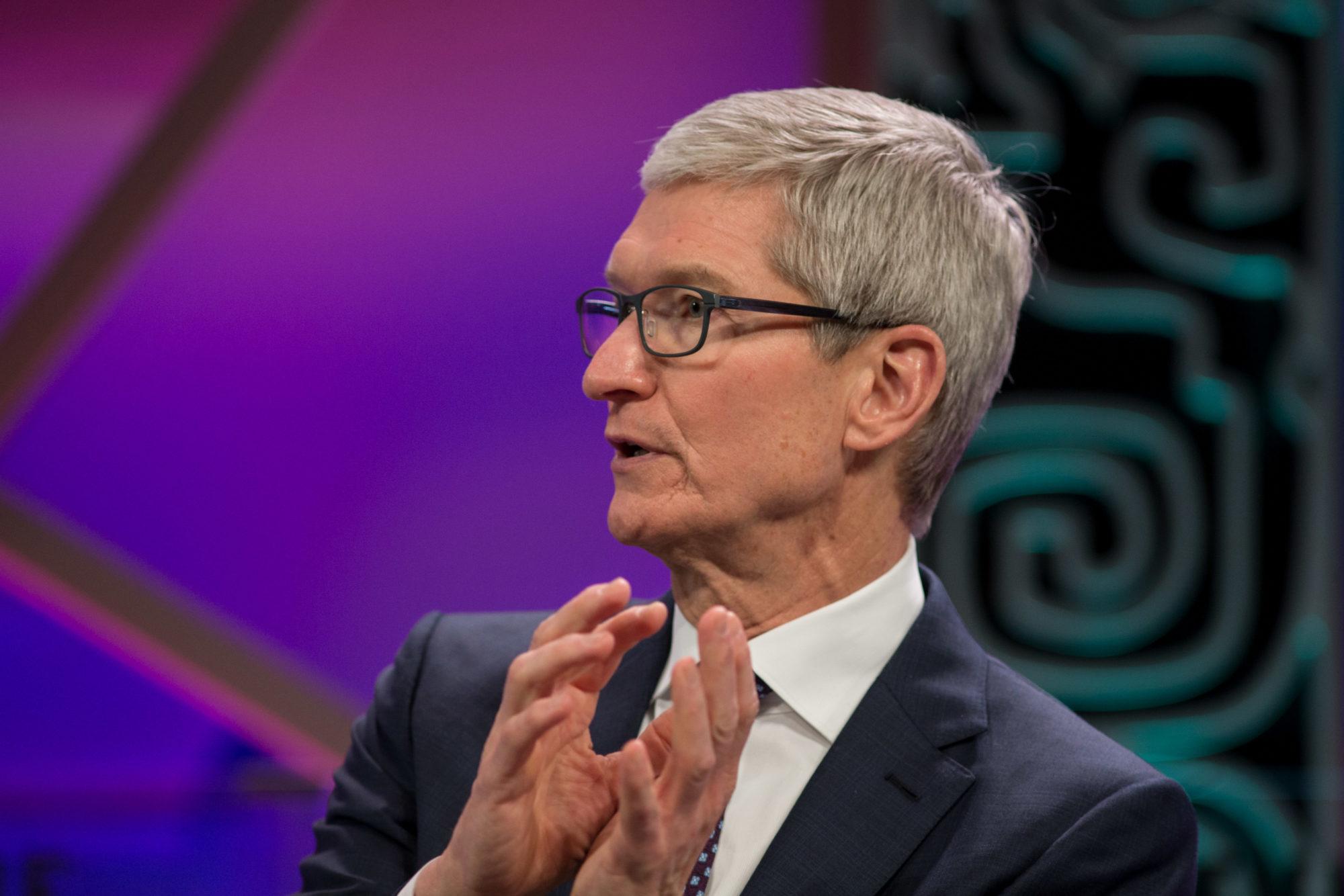 Données personnelles : le PDG d'Apple implore les États-Unis de protéger les internautes par des lois