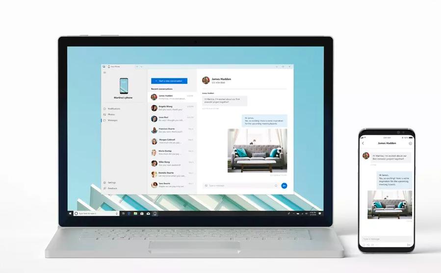 Microsoft dévoile une app pour utiliser votre smartphone sur Windows 10