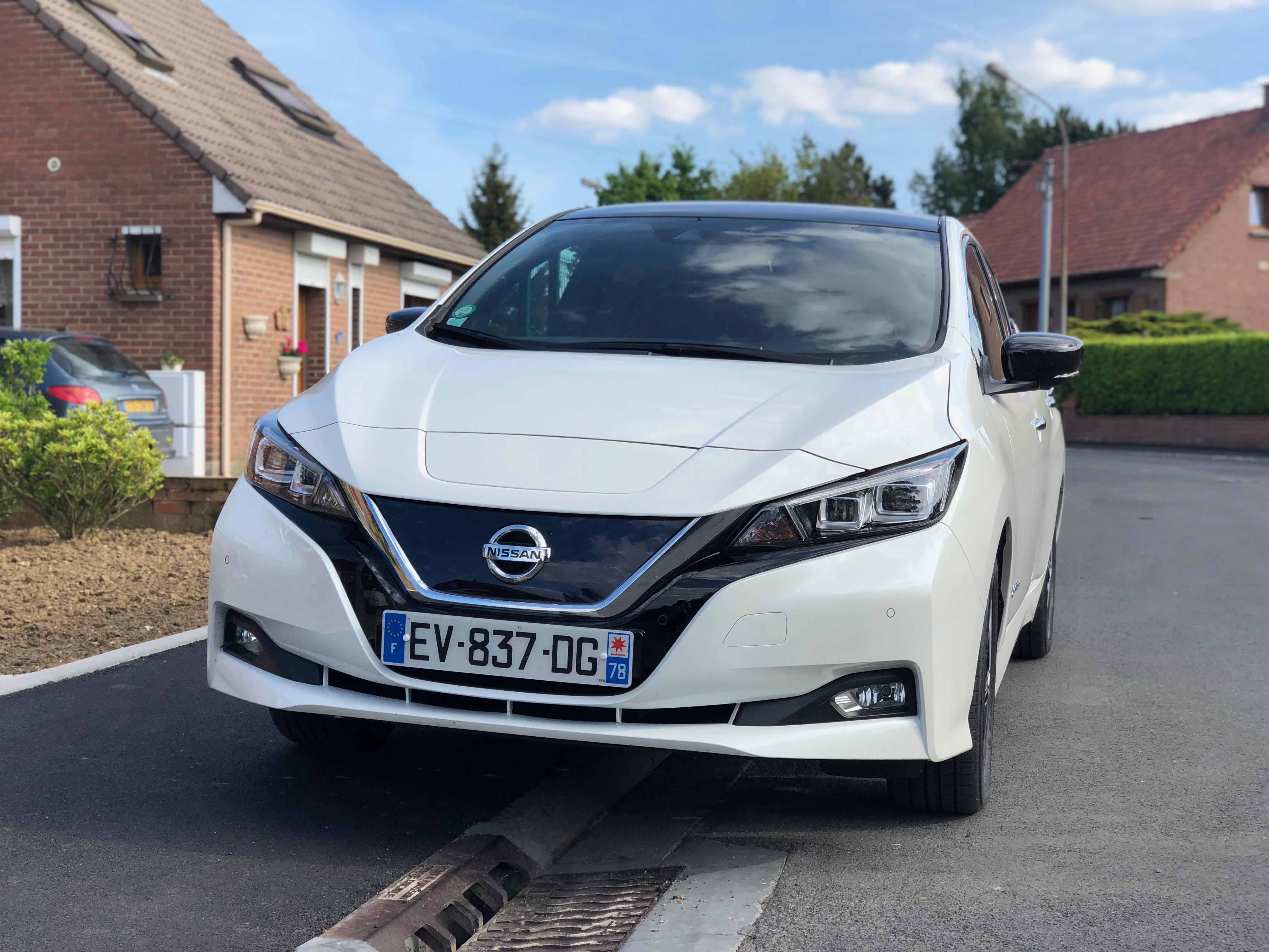 Semaine Avec Nissan De La 2Une Leaf Conduite Essai Seule 35AjRL4q