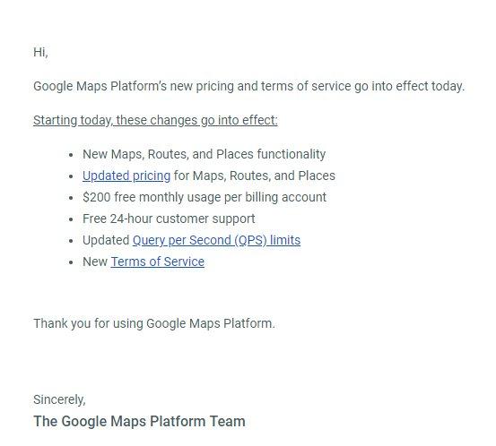 Le Moment Redoute Est Arrive Google Maps Devient Beaucoup Plus
